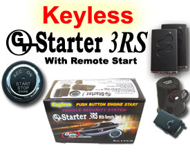 GTStarter 3RS Remote Start Keyless Ignition System w/ Passive RFID Technology