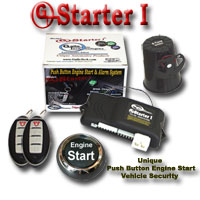 GTStarter 1 Push Button Start Security System